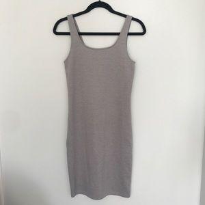 Grey body on dress